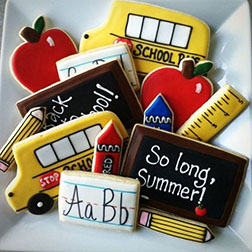 School Term Cookies