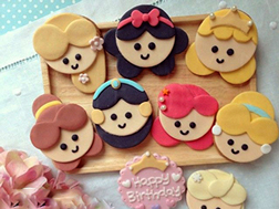 Princess Party Cookies