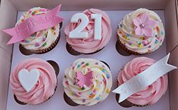 Lovable Swirls Dozen Cupcakes