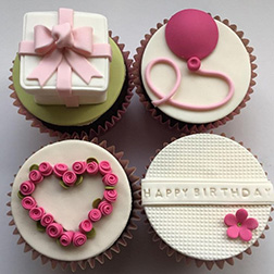 Perfect Birthday Gift Dozen Cupcakes