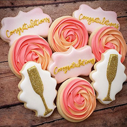 Toast To You Congratulation Cookies