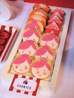 At The Circus cookies