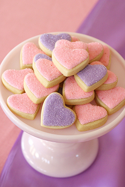 Cozy Heart Cookies