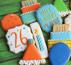 Perfect Party Birthday Cookies