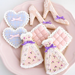 Plush Pink Birthday Cookies