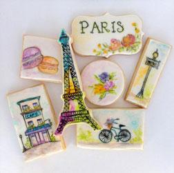 Parisian Souveniers Cookies