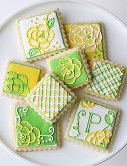 Spring Pastel Cookies