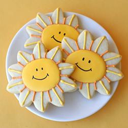 Sunny Smiles Cookies