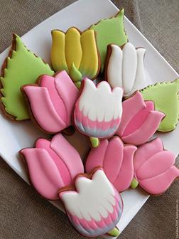 Tasty Tulip Cookies