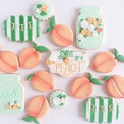 Sweet Peach Cookies