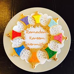 Floral Ramadan Cookies