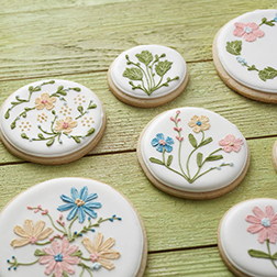Spring Bloom Day Cookies
