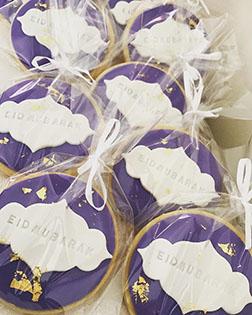 Midnight Blue Eid Cookies