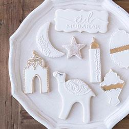 Pristine White Eid Cookies