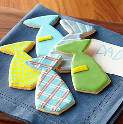 Dad's Favorite Ties Cookies