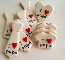 To Dad With Love Cookies