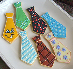 Tie Collection Cookies