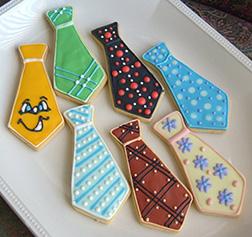 Tie Collection Cookies