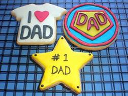 No.1 SuperDad Cookies
