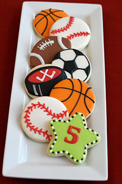 Sport Fanatic Dad Cookies