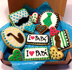 My Hero Father's Day Cookies