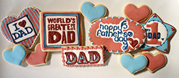 World's Greatest Dad Cookies
