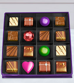 Red Carpet Chocolate Box by Annabelle Chocolates