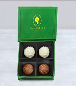 Sweet Perfection Truffles Box by Annabelle Chocolates