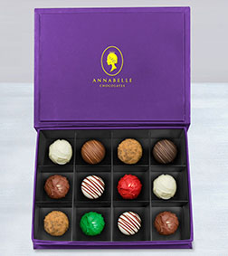 Avant-Garde Truffles Box by Annabelle Chocolates