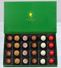 The Ambassador's Chocolate Truffles Box by Annabelle Chocolates