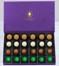 The Diplomat's Chocolate Truffles Box by Annabelle Chocolates