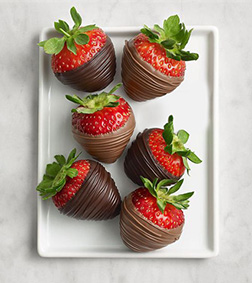 Succulent Dipped Strawberries