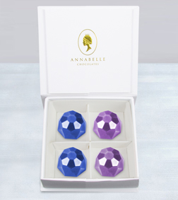 Twinkling Gemstones Chocolates by Annabelle Chocolates