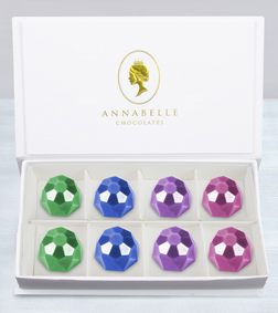 Trinkets Gemstones Chocolate Box by Annabelle Chocolates