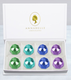 Belgian Chocolate Jewels Box by Annabelle Chocolates