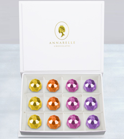 Ornate Gemstones Chocolate Box by Annabelle Chocolates