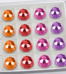 Bejeweled Delicacy Gemstone Chocolates by Annabelle Chocolates