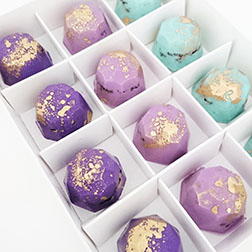 Couture Gemstone Chocolates by Annabelle Chocolates