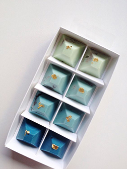 Cote d'Azur Chocolate Gems by Annabelle Chocolates