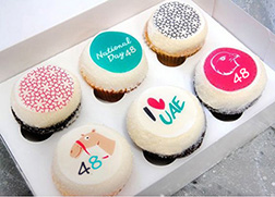 Love For The Nation Cupcakes
