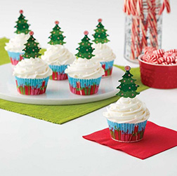 Frosted Forest Cupcakes