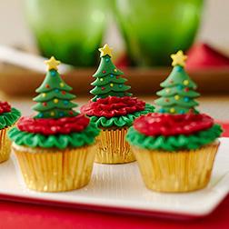 Christmas Ready Cupcakes