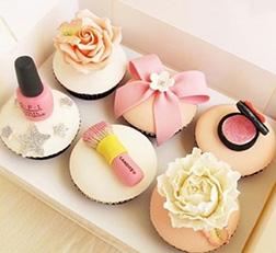Pastel Girl Cupcakes