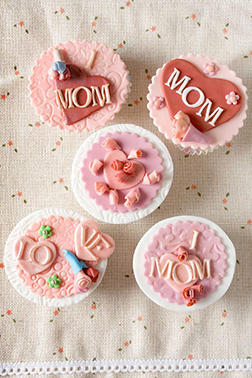 Love You Mom Cupcakes