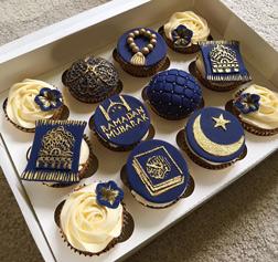Ramadan Reflections Cupcakes