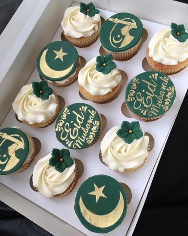 Eid Flair Cupcakes