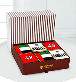 48th National Day Commemorative Brownie Box