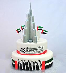 Magnificent Burj Khalifa 3D Cake