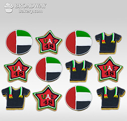 Flags and Stars Cookie Set