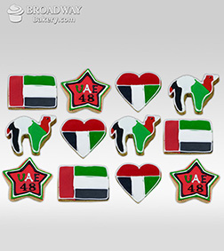 National Day Symbolic Cookies